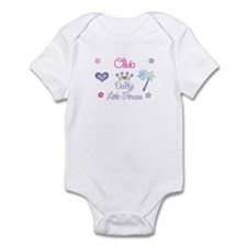 Olivia - Daddy's Princess Infant Bodysuit