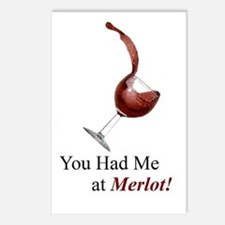 You Had Me at Merlot! Postcards (Package of 8)