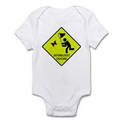 Entomolgist Crossing Infant Bodysuit