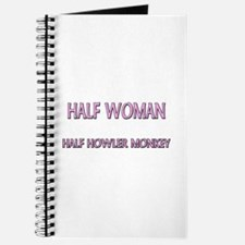 Half Woman Half Howler Monkey Journal
