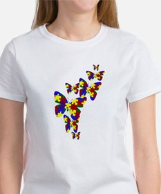Burst of butterflies Women's T-Shirt
