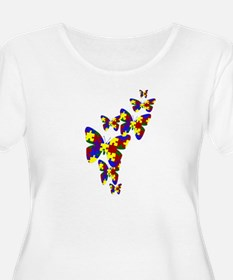 Burst of butterflies T-Shirt