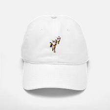 Burst of butterflies Baseball Baseball Cap
