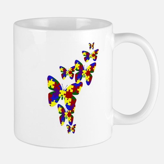 Burst of butterflies Mug