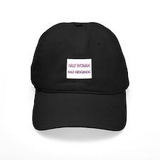 Half Woman Half Hedgehog Baseball Cap