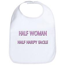 Half Woman Half Harpy Eagle Bib