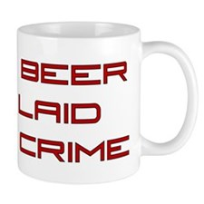 Fight Crime Small Mug
