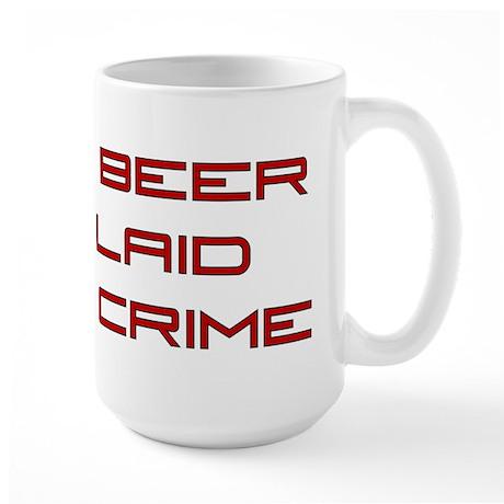 Fight Crime Large Mug