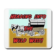 Wild West Mousepad