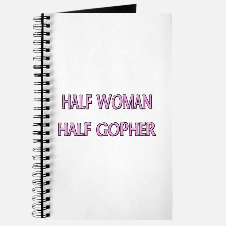 Half Woman Half Gopher Journal
