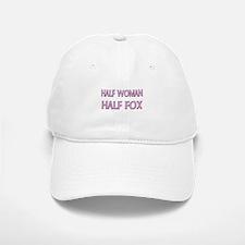 Half Woman Half Fox Baseball Baseball Cap