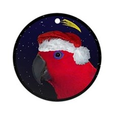 Christmas Night Female Eclectus Christmas Ornament