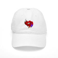 I Love My Vosmaeri Eclectus Hat (Hen)