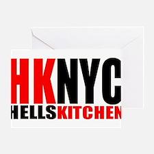 """hells kitchen shirt"" Greeting Card"