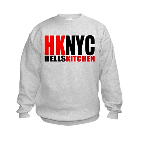"""hells kitchen shirt"" Kids Sweatshirt"