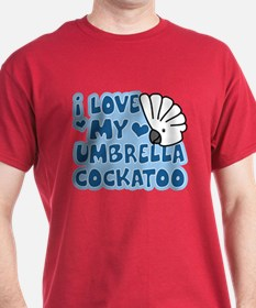 Kawaii Umbrella Cockatoo T-Shirt