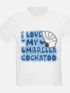 Kawaii Umbrella Cockatoo T-Shirt
