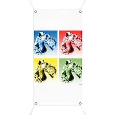 Kerry Blue Pop Art Banner