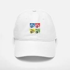 Kerry Blue Pop Art Cap