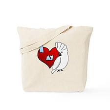 Love Umbrella Cockatoo Tote Bag