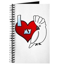 Love Umbrella Cockatoo Journal