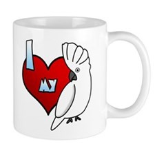 Love Umbrella Cockatoo Mug