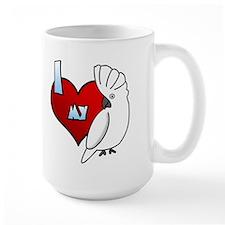 Love Umbrella Cockatoo Mug