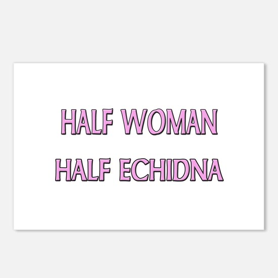 Half Woman Half Echidna Postcards (Package of 8)