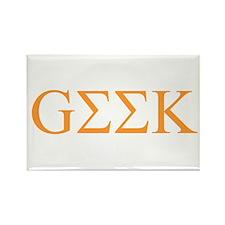 Greek Geek (TG) Rectangle Magnet