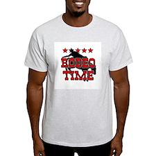 Rodeo Time Ash Grey T-Shirt