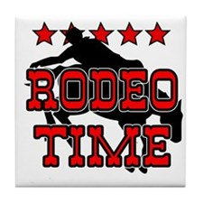 Rodeo Time Tile Coaster
