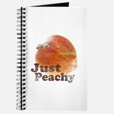 Vintage Just Peachy Journal