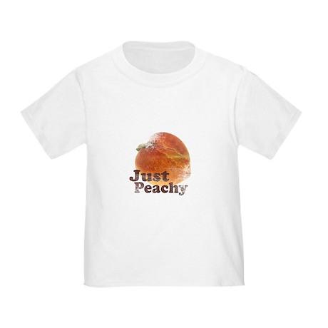 Vintage Just Peachy Toddler T-Shirt