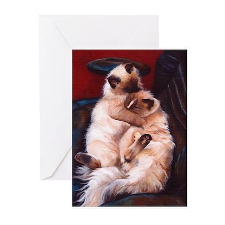 Ragdolls Greeting Cards (Pk of 10)