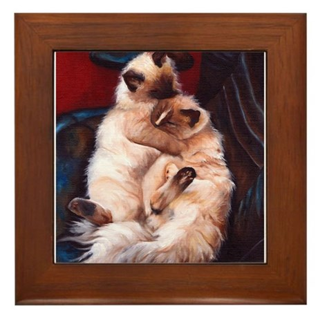 Ragdolls Framed Tile