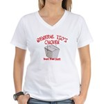 General Tso's Chicken Women's V-Neck T-Shirt