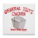 General Tso's Chicken Tile Coaster