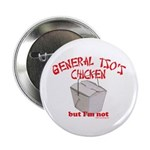 "General Tso's Chicken 2.25"" Button (10 pack)"