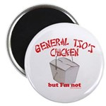 "General Tso's Chicken 2.25"" Magnet (10 pack)"