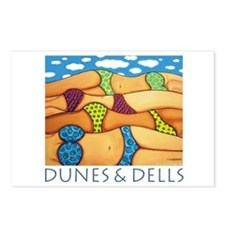 Dunes and Dells - Beach Postcards (Package of 8)