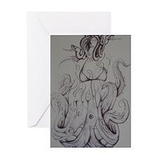 Volpi Medusa Greeting Card