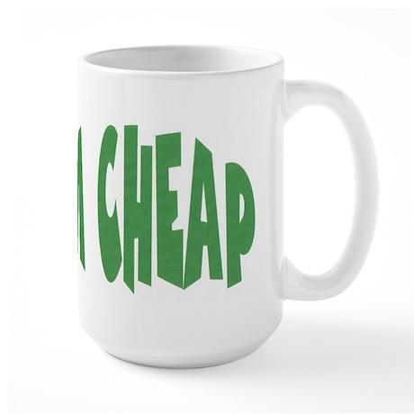 TEXT Large Mug