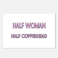 Half Woman Half Copperhead Postcards (Package of 8