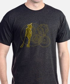 Witching Circles Yellow T-Shirt