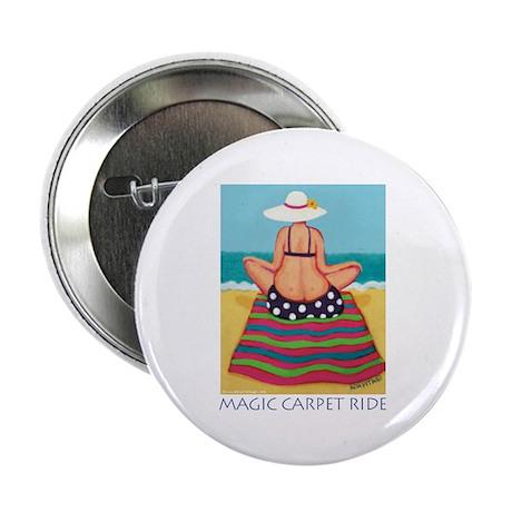 """Magic Carpet Ride - Beach 2.25"""" Button (100 pack)"""