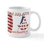Celebrate the fourth Masonically Mug