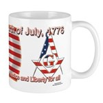 Celebrate the fourth Masonically Mug