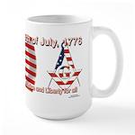 Celebrate the fourth Masonically Large Mug