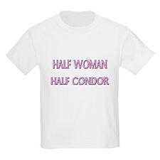 Half Woman Half Condor T-Shirt