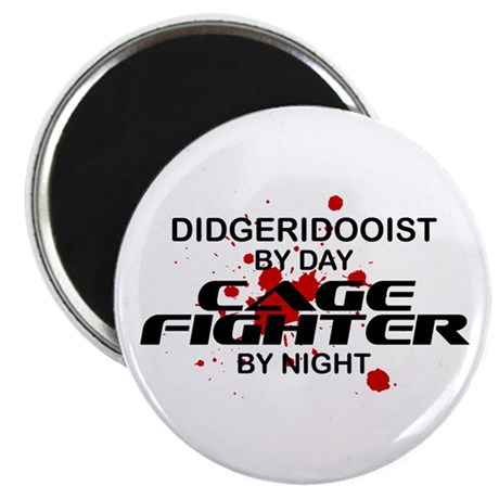 Didgeridooist Cage Fighter by Night Magnet